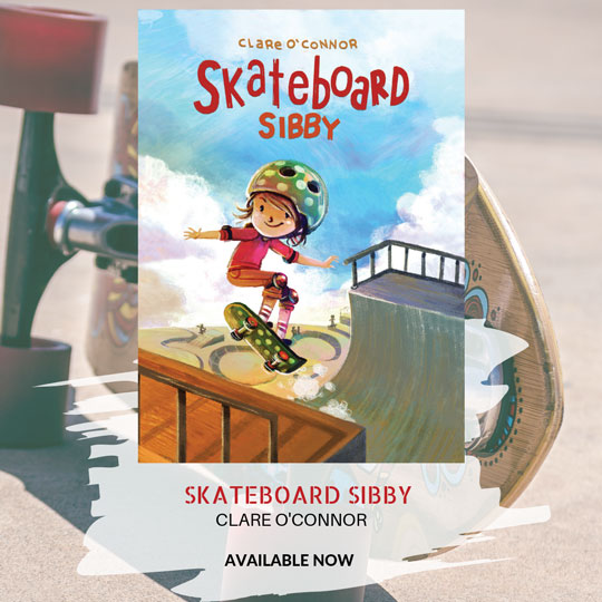 Skateboard Sibby book available now