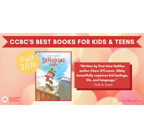 Skateboard Sibby named CCBC Best Books for Fall 2019